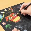 『河北新報』にて「楽しく脳トレ  スクラッチアート」が掲載されました。