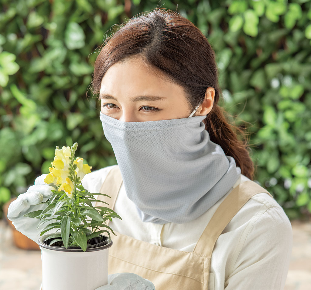 『日本農業新聞』にて「虫SUNバリア クールフェイスカバー」が掲載されました。